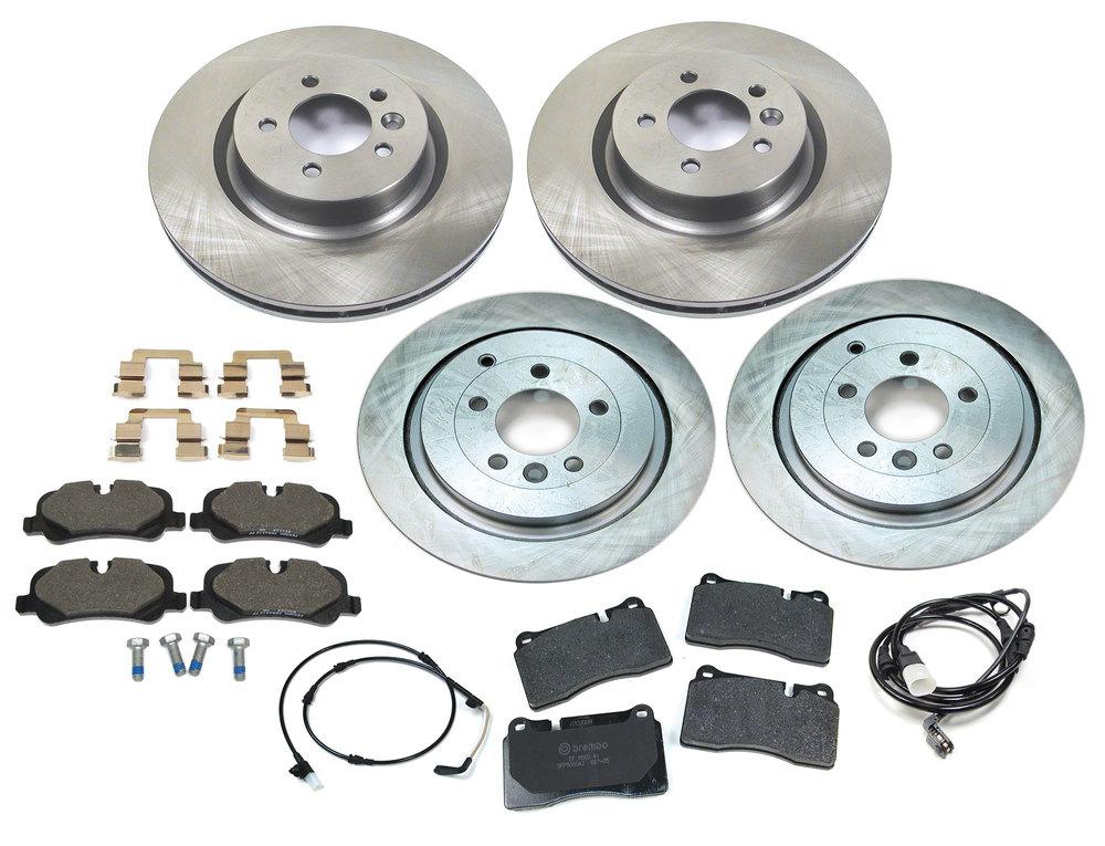 Brake Rebuild Kit Front & Rear 2007-09