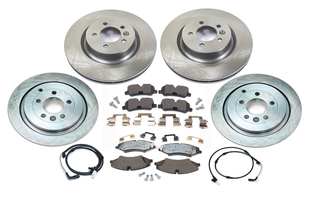 Brake Rebuild Kit Front & Rear Up To Vin AA256675
