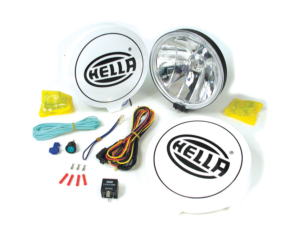 Hella 700FF Performance Driving Lamp Kit (Includes A Pair Of Lights)