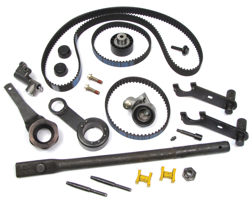 Timing Belts & Tensioner Kit With Installation Tool (Rental)