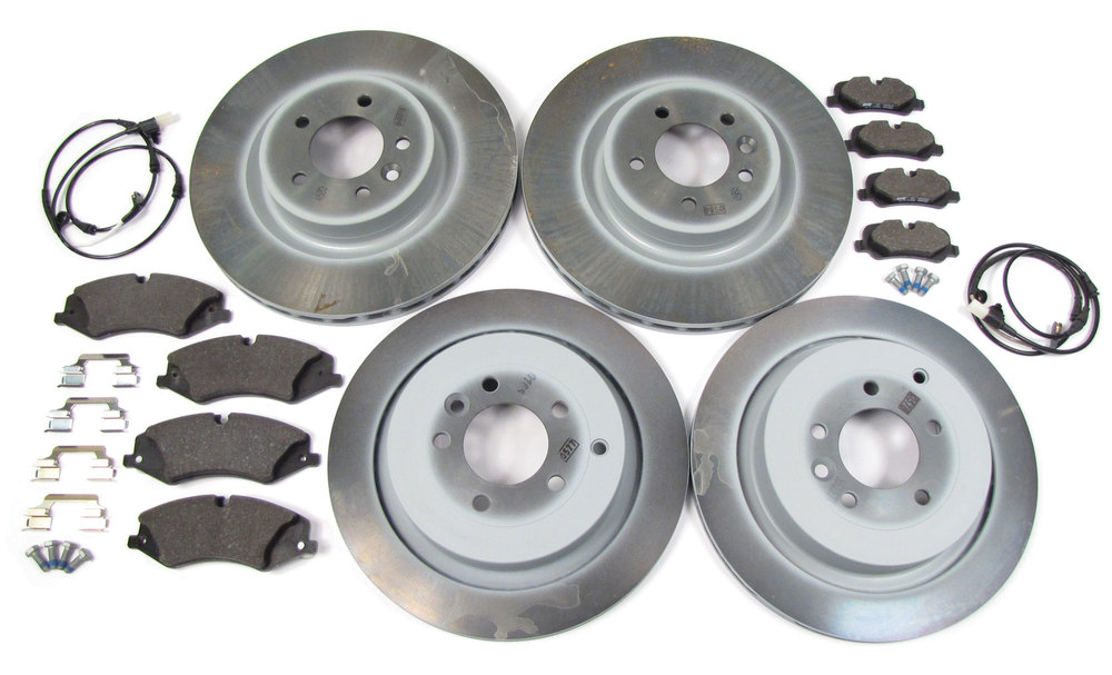 Brake Rebuild Kit, Front And Rear With Genuine Rotors And Pads For Range Rover Sport 2010 - 2013