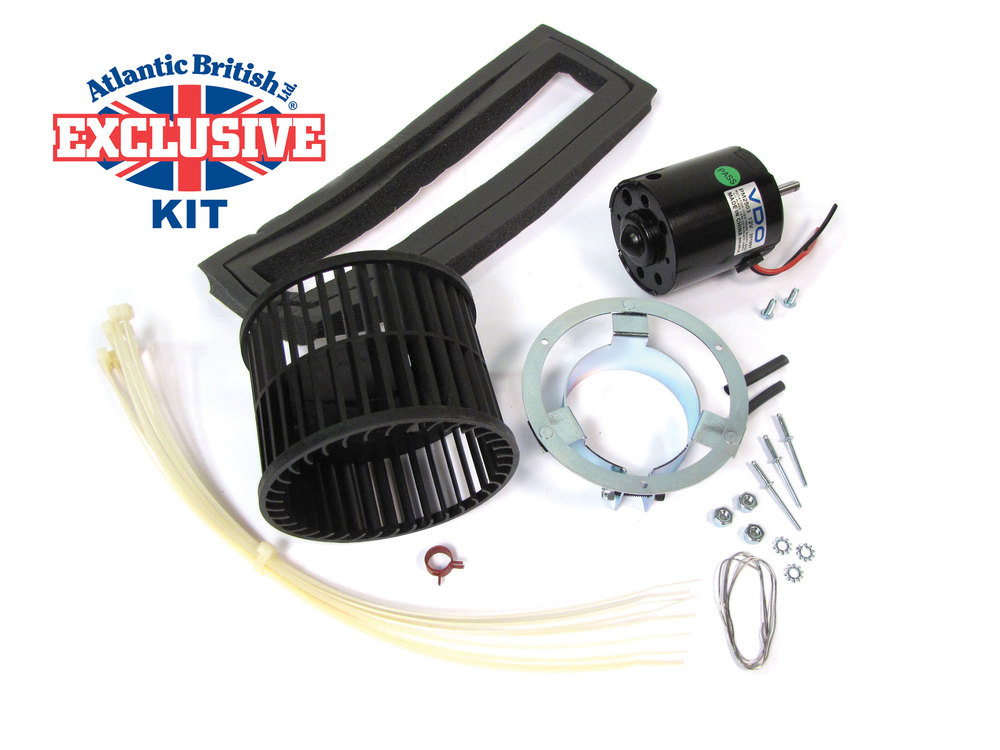 Heater Blower Motor Assembly For Range Rover Classic, 1990 - 1994