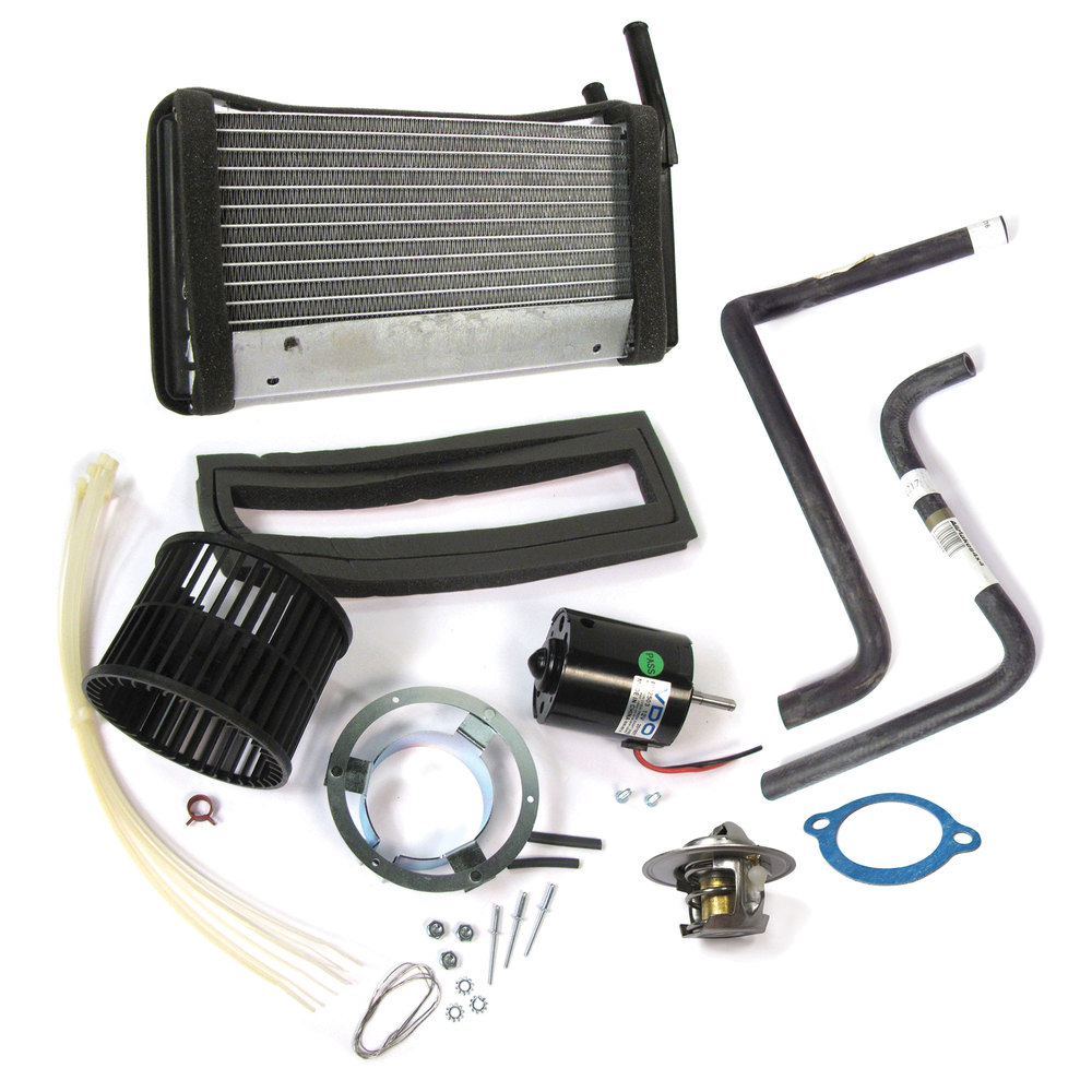 Range Rover Classic heater blower motor and heater core kit