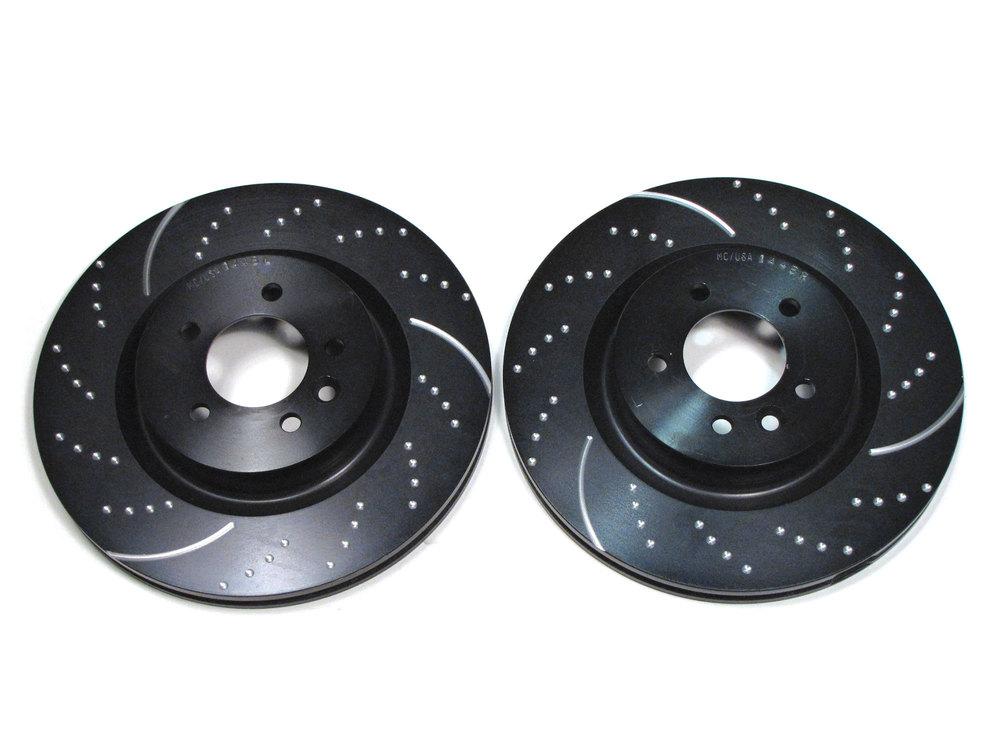 2 EBC brake rotors