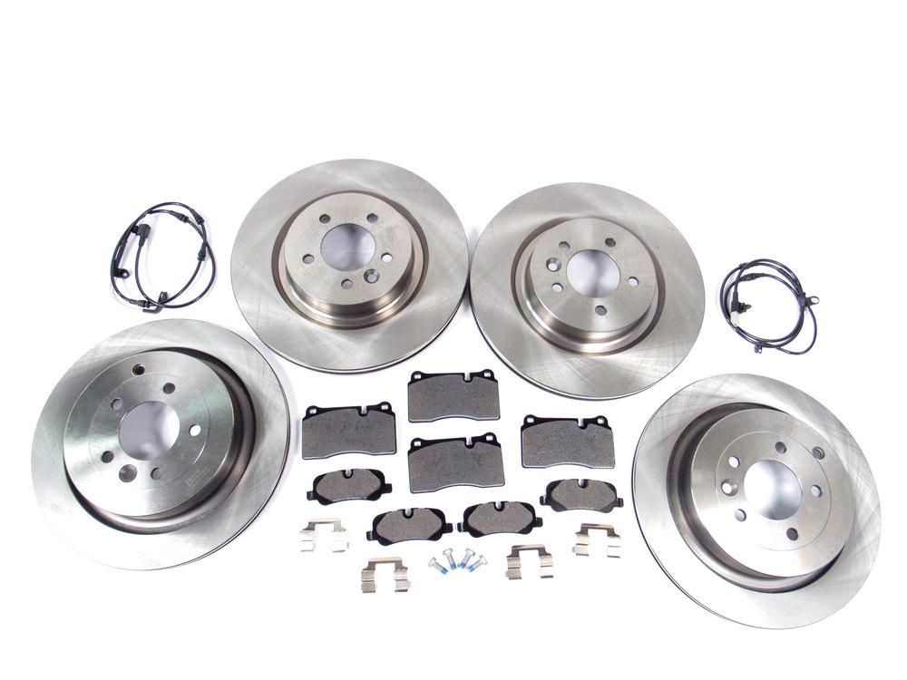brake pads, rotors, wear sensors and hardware