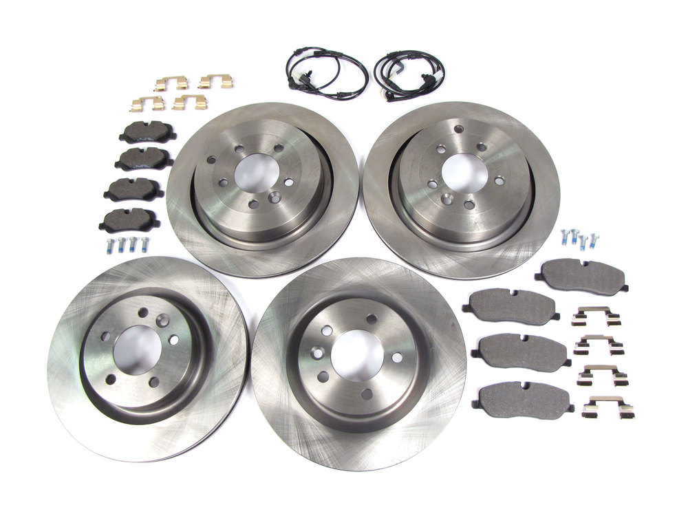 KT132541 OE Series Rotors + Ceramic Pads Max Brakes Front Premium Brake Kit Fits: 2006 06 Land Rover Range Rover Sport