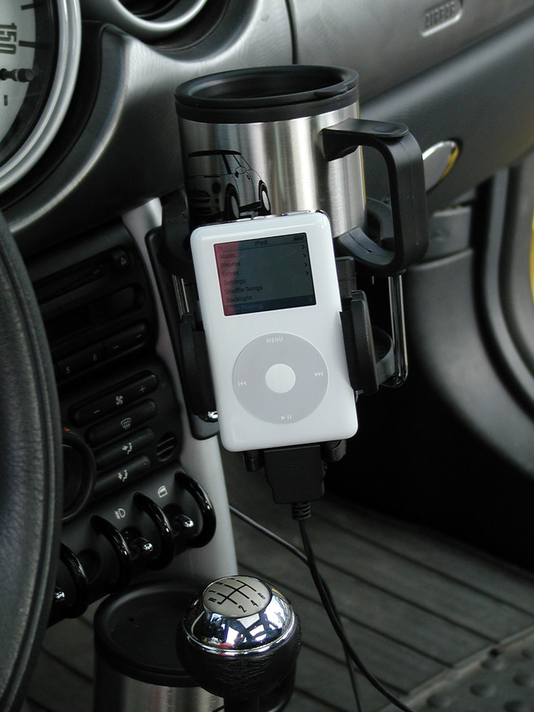 Gripmatic Portable Device Mount - iPod / MP3 Player / Cell Phone / Pda
