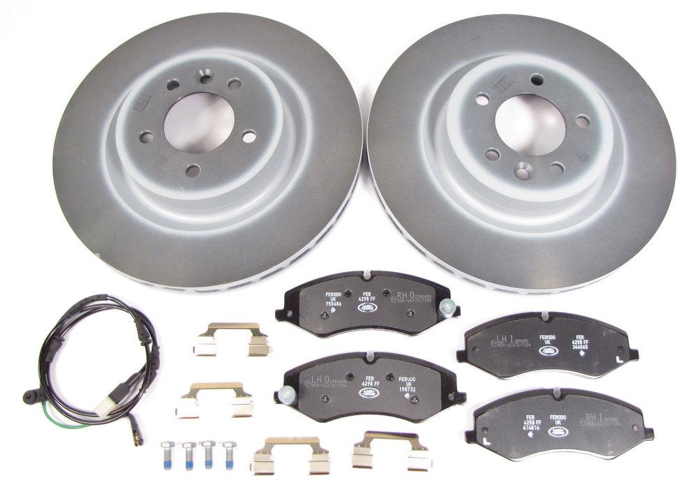 brake rebuild kit - rotors, pads and wear sensors