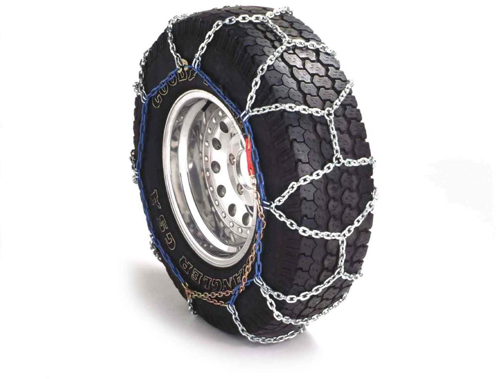 Grip 4X4 Snow Chains By RUD, Pair, For Land Rover Discovery 1, Discovery Series 2, LR2 And Range Rover P38, 255/55/18 To 255/65/16