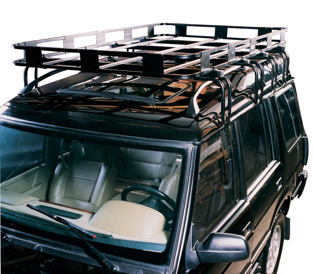 Safari Roof Rack By Surco, Baket-Style, 50 X 84-Inches For Land Rover Discovery I, Discovery Series II, And Range Rover Classic