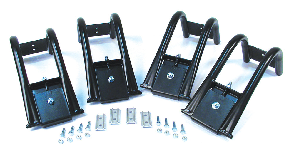 Roof Rack Gutter Mount Adapters By Surco For Land Rover Discovery 1 And Discovery Series 2