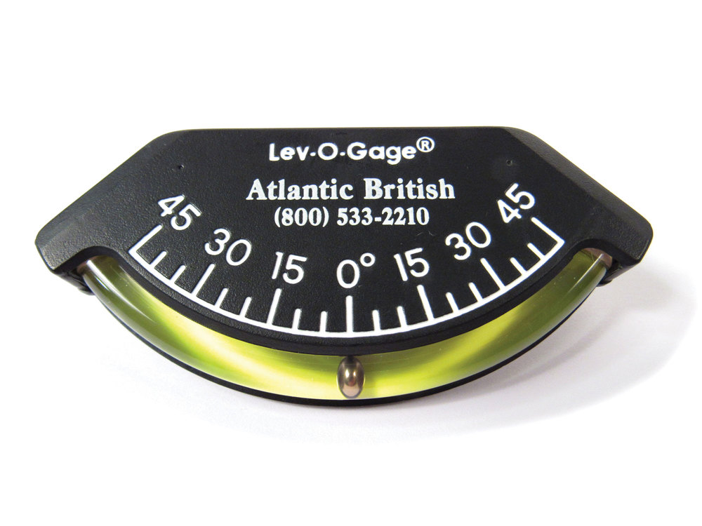 Lev-O-Gage 3.5 Inch Atlantic British Logo