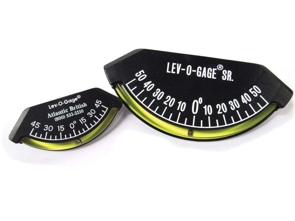 Lev-O-Gage Kit, Icludes One 3.55-Inch Original Lev-O-Gage And One 6.44-Inch Lev-O-Gage Sr