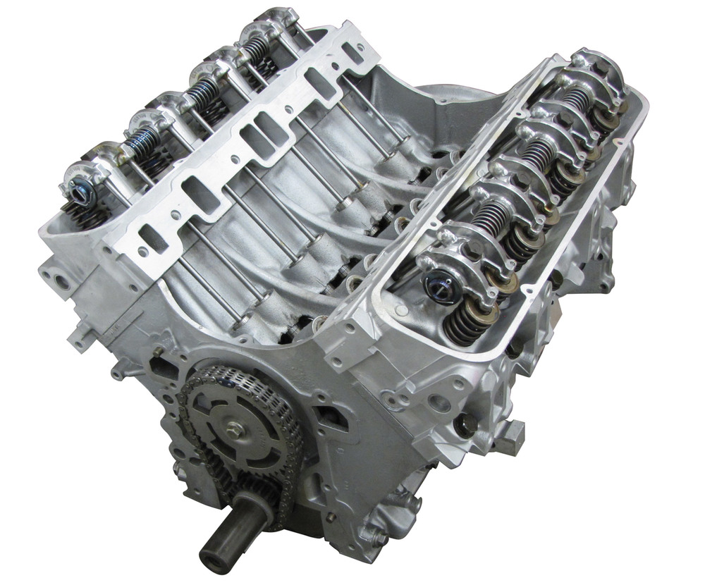 Land Rover Engine: Remanufactured 4.0 BOSCH Long Block Engine Without Secondary Air; Set-Up With Cylinder Heads And Rockershaft (Core Charge Additional)