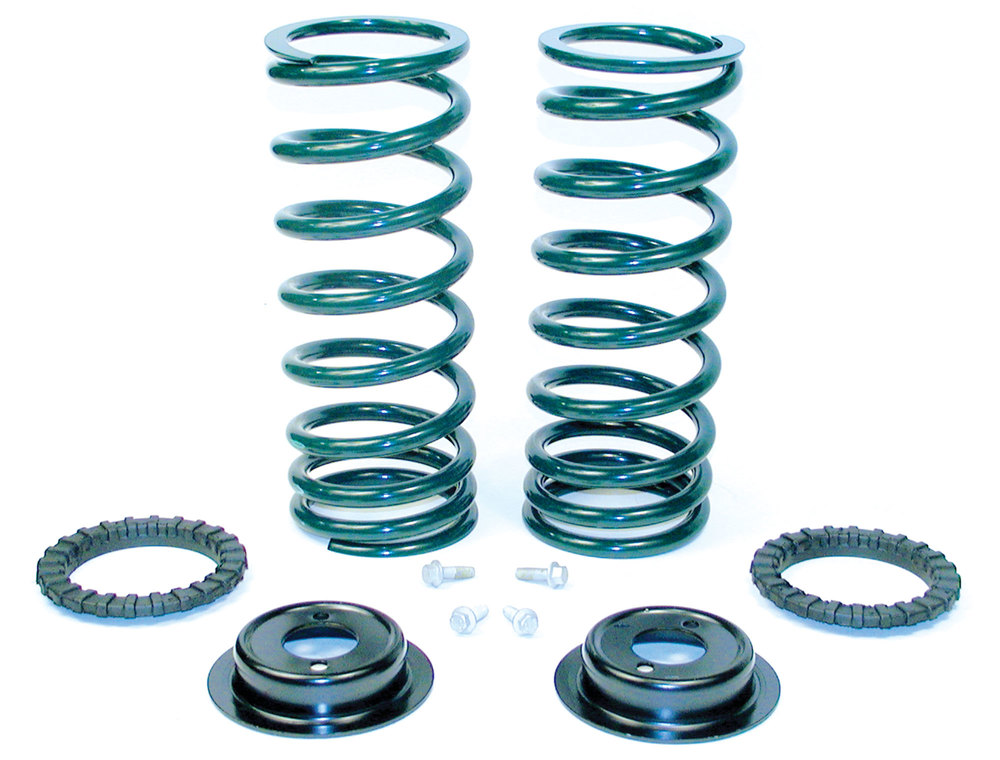 Land Rover Discovery 2 rear suspension coil conversion kit