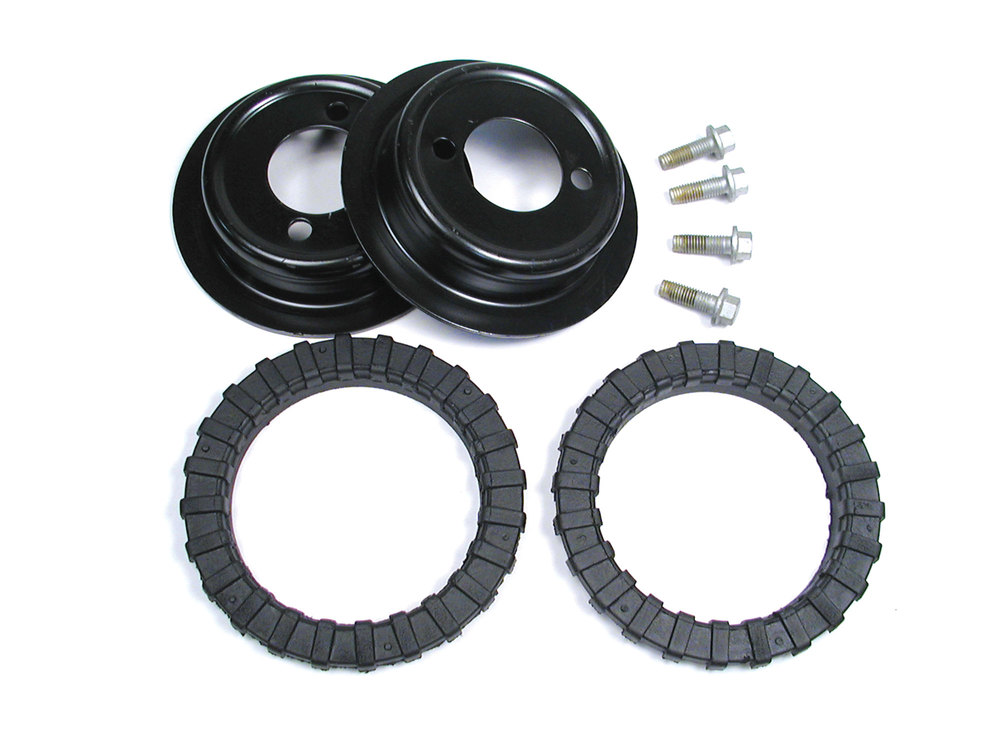 Rear Air Suspension To Coil Spring Mounting Kit For Land Rover Discovery Series II, Includes Spring Isolators, Seats And Mounting Hardware