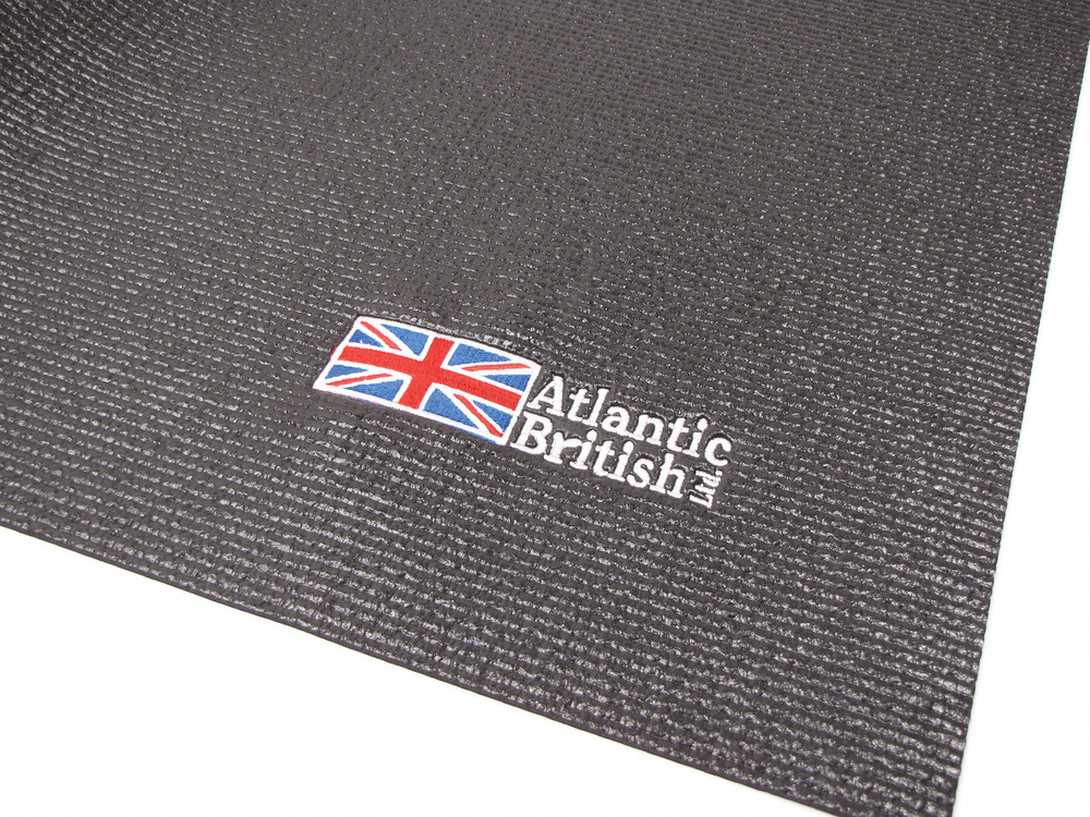 Fender Cover Tool Protection Pad, 24 X 36 Inch, Black With Embroidered Atlantic British Logo