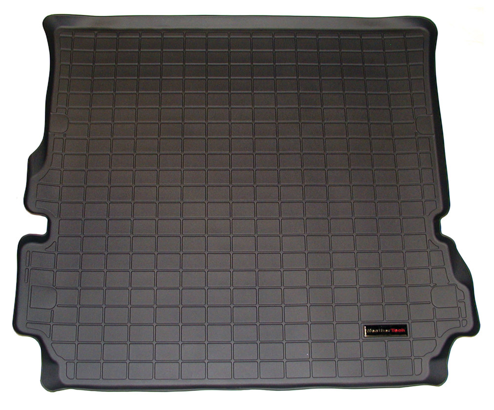 Loadspace Mat Cargo Liner By WeatherTech, Rubberized Black, For Land Rover LR3 And LR4