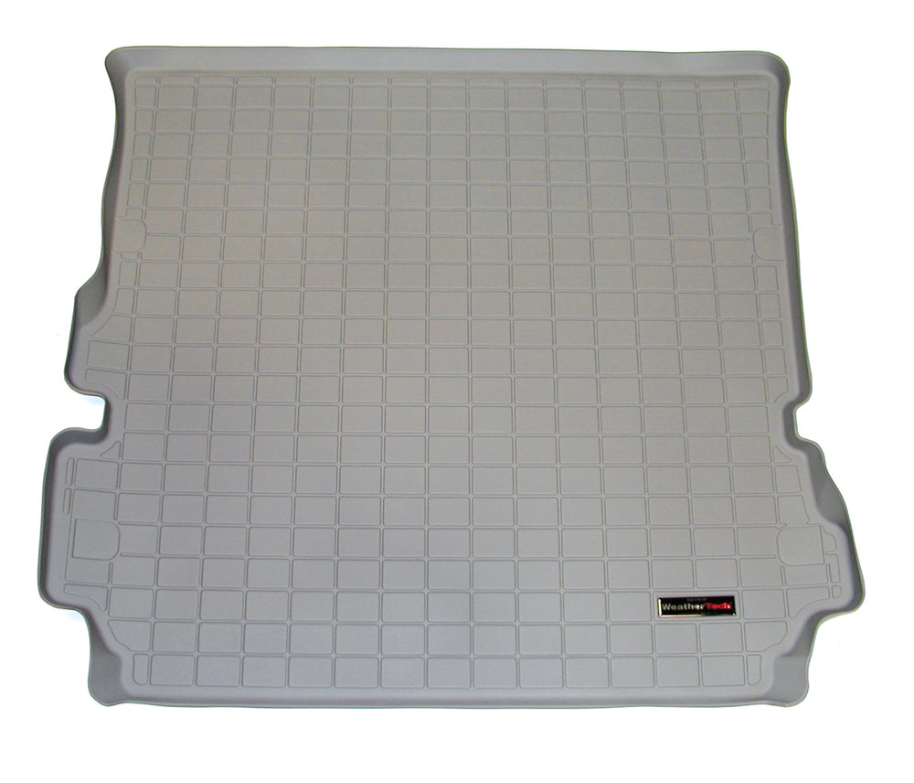 Loadspace Mat Cargo Liner By WeatherTech, Rubberized Gray, For Land Rover LR3 And LR4