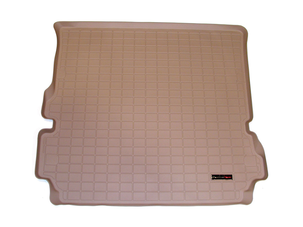 Loadspace Mat Cargo Liner By WeatherTech, Rubberized Tan, For Land Rover LR3 And LR4