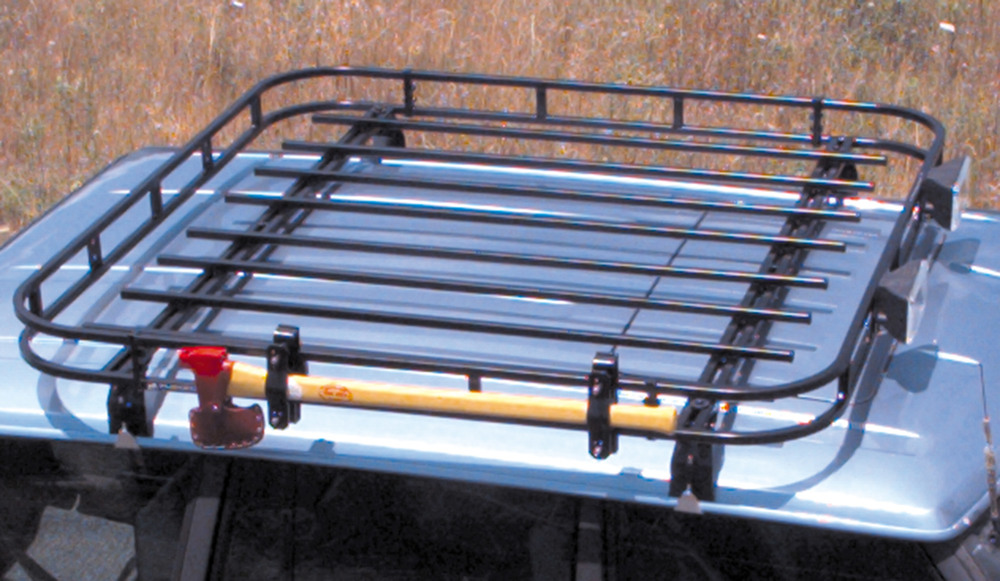 Basket Style Wilderness Roof Rack Kit
