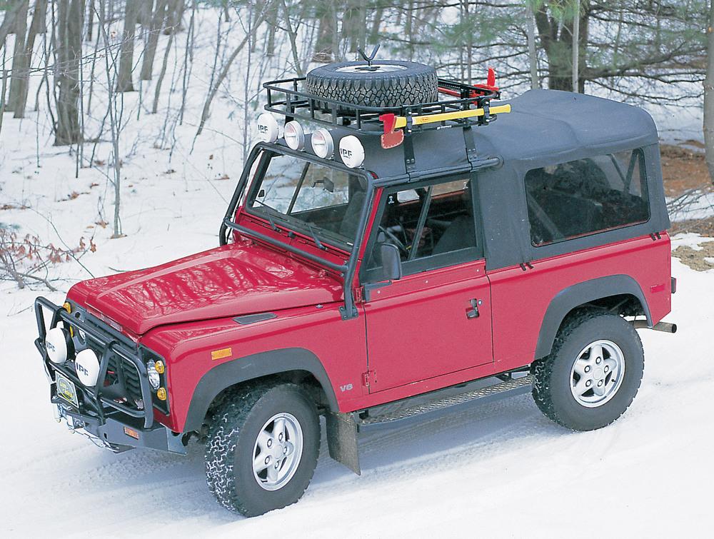 Roof Rack Mounting Kit - Wilderness