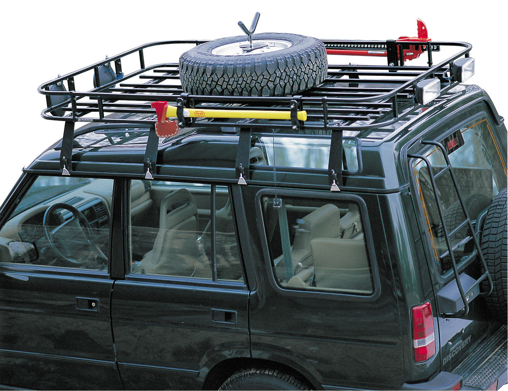 Wilderness Roof Rack - Spare Tire Mount