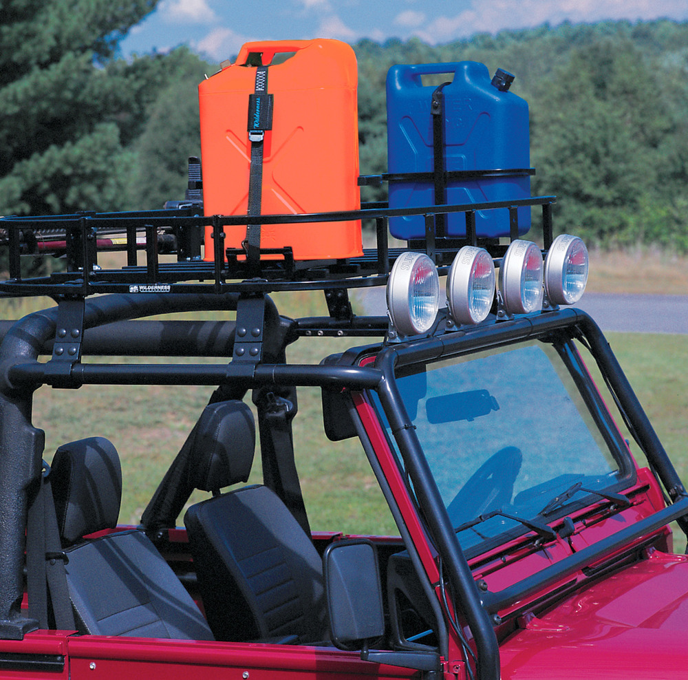 Wilderness Roof Rack - 20L Metal Jerry Can Holder