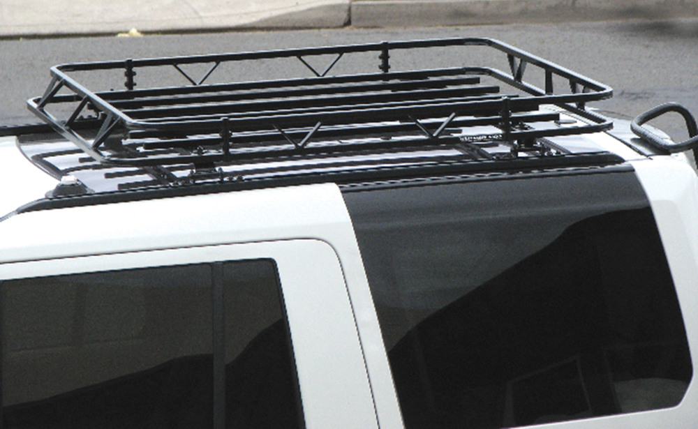 Wilderness Roof Rack Kit By Garvin, 44 X 52 X 4 Inch Basket Size