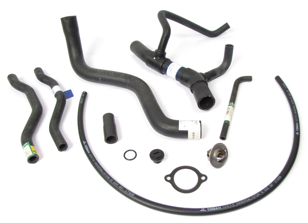 coolant hose and thermostat kit for Discovery I