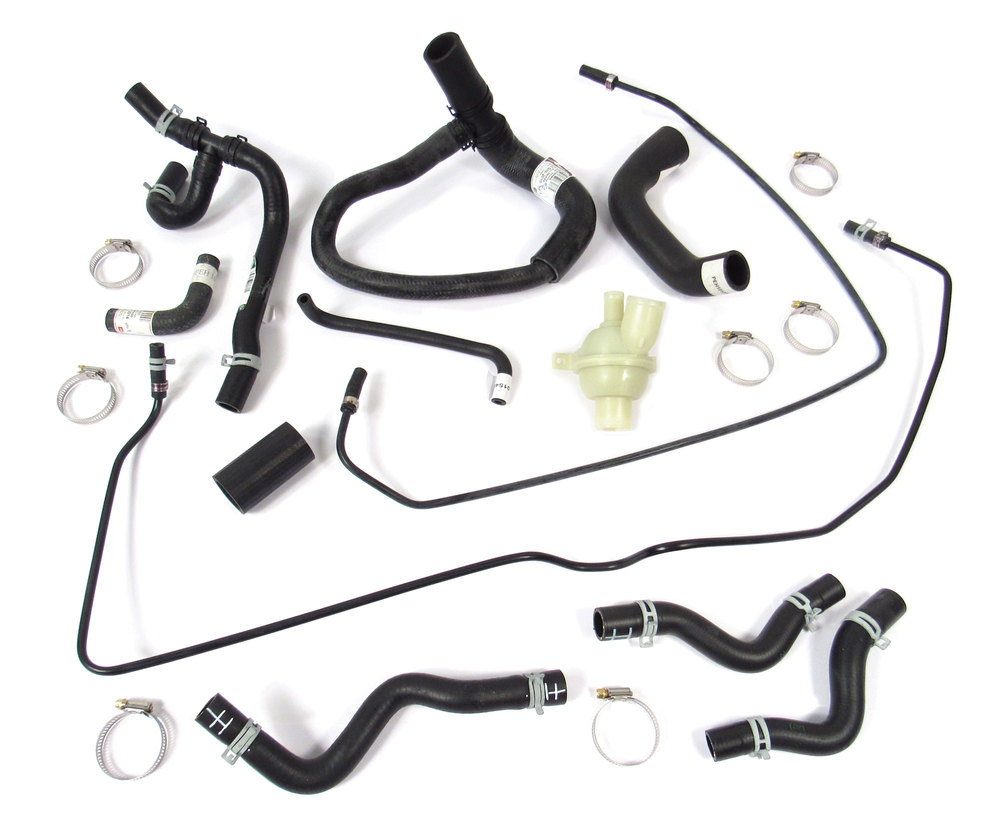 Coolant Hose And Thermostat Kit For Range Rover 4.0 And 4.6 P38 (BOSCH Engine)