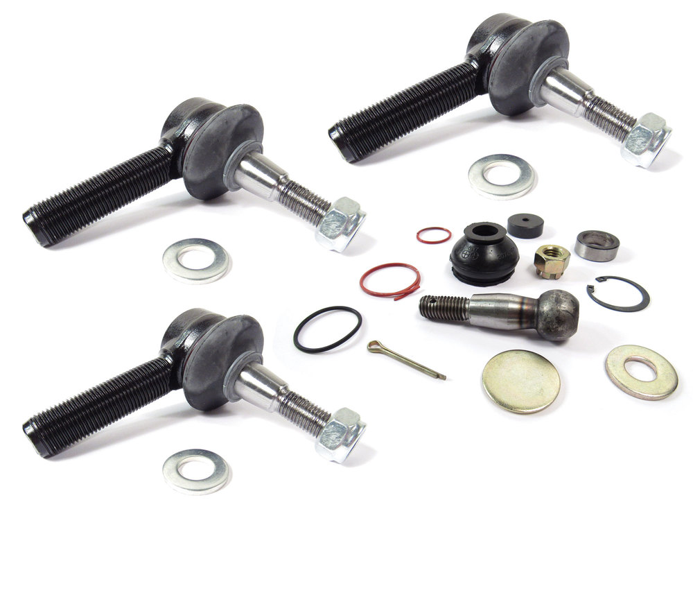 Ball Joint Kit, Steering Drop Arm And Tie Rod End, Right Hand Thread, For Land Rover Discovery I, Defender 90 And 110, And Range Rover Classic, 1987 - 1991