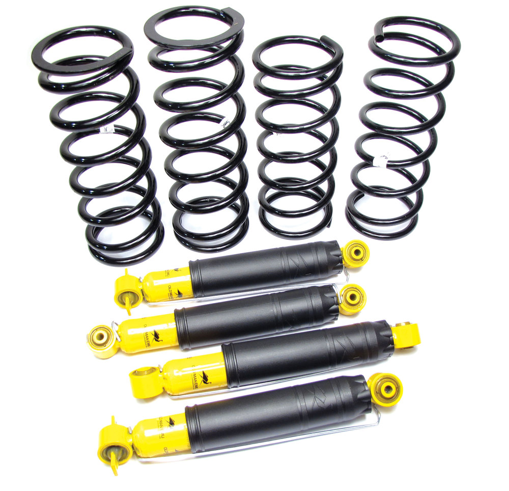 Old Man Emu Medium Duty Shock & Spring Suspension Kit For Land Rover Discovery 2 With Nitrocharger Shocks
