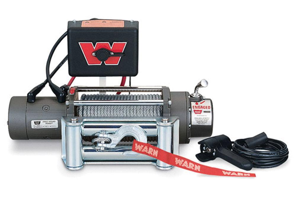 ARB Brush Bar W/8000 Lb WARN Winch