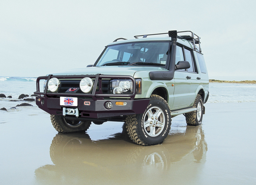 ARB Bull Bar And Steel Winch Bumper For Land Rover Discovery Series II, 2003 - 2004