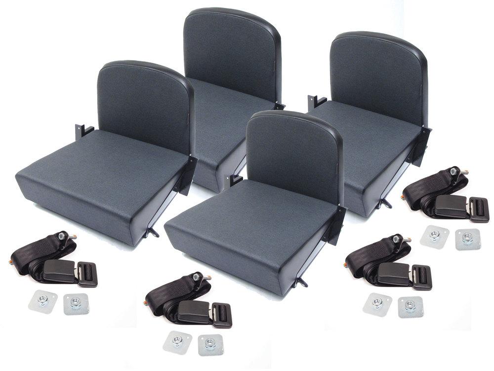 Trakker rear jump seats