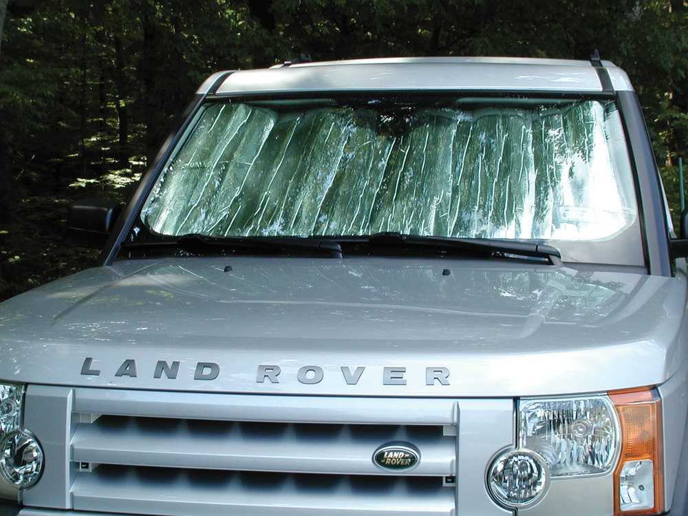 Custom-Fit Windshield Sun Shade For Land Rover LR3 By Intro-Tech Automotive