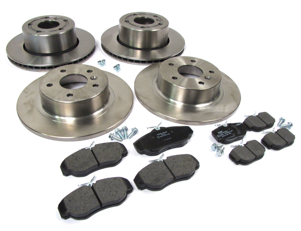 Discovery Series II brakes