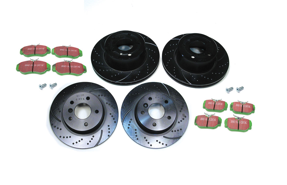 Discovery II Performance Brake Kits From EBC