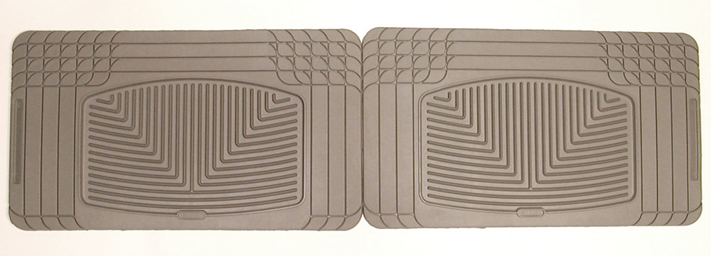 Weathertech® Classic Premium Rubber Floor Mats - Rear Footwell - Grey