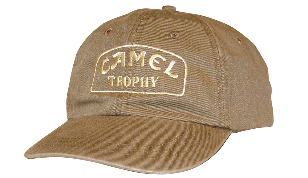 Hat - Embroidered - Camel Trophy Logo - Beige