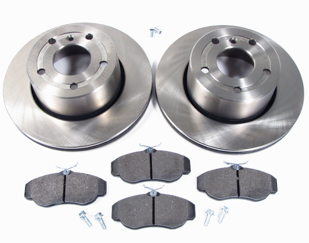 Land Rover Discovery II brake rotors