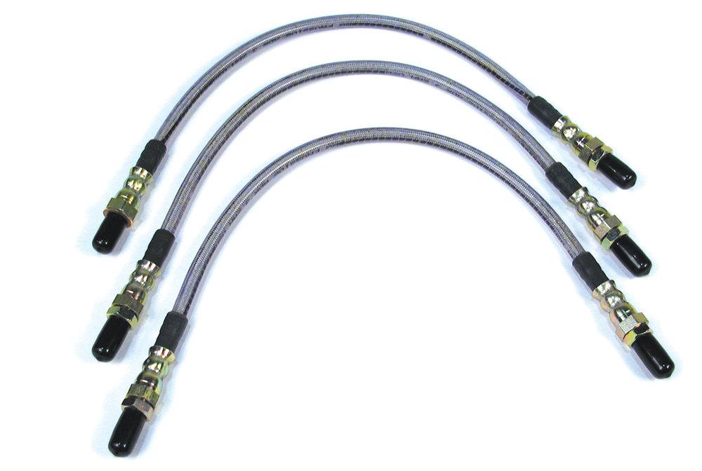Defender 110 Stainless Steel Brake Hose Kit