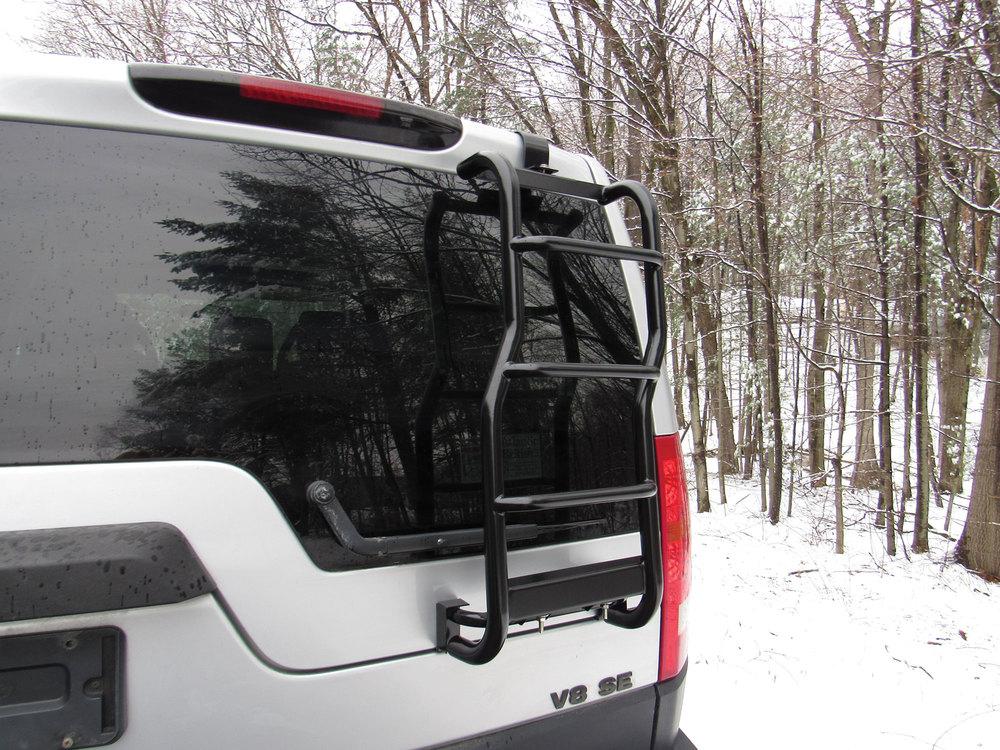 Standard Rear Roof Rack Ladder For Land Rover LR3 And LR4