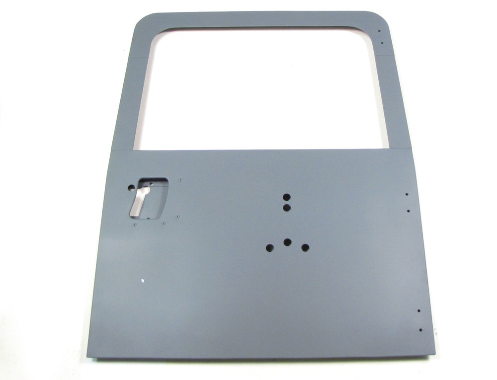 Door Assembly Rear W/Bracket Holes For Spare Wheel