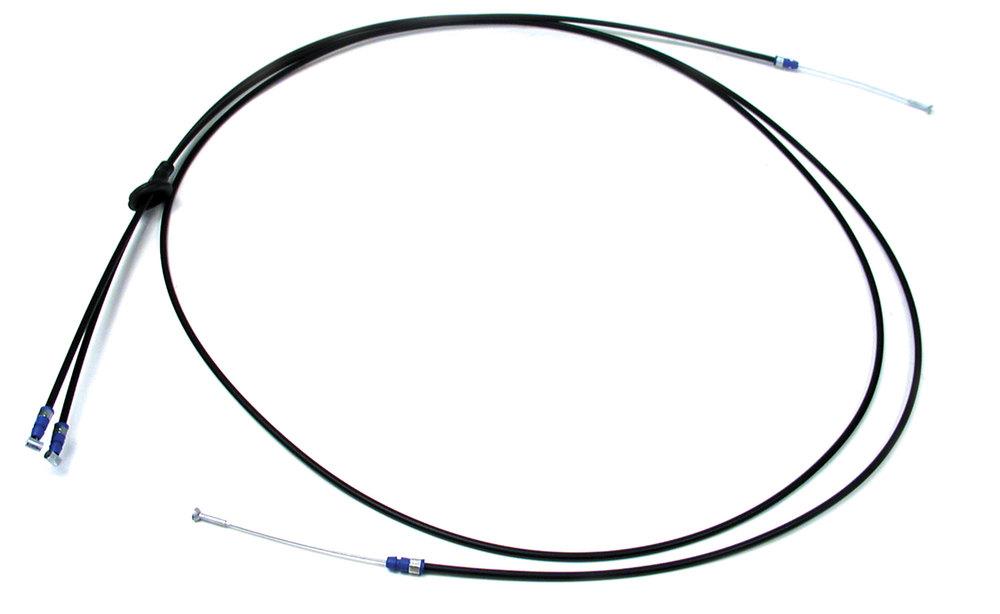 Genuine Hood Bonnet Release Cable ALR6989 For Range Rover P38