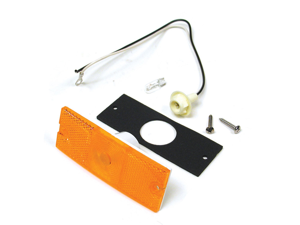 Lamp - Side Marker Assembly - Front (Amber)