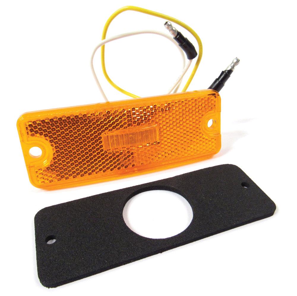 LED Front Side Marker Lamp Assembly For Defender 90 And 110