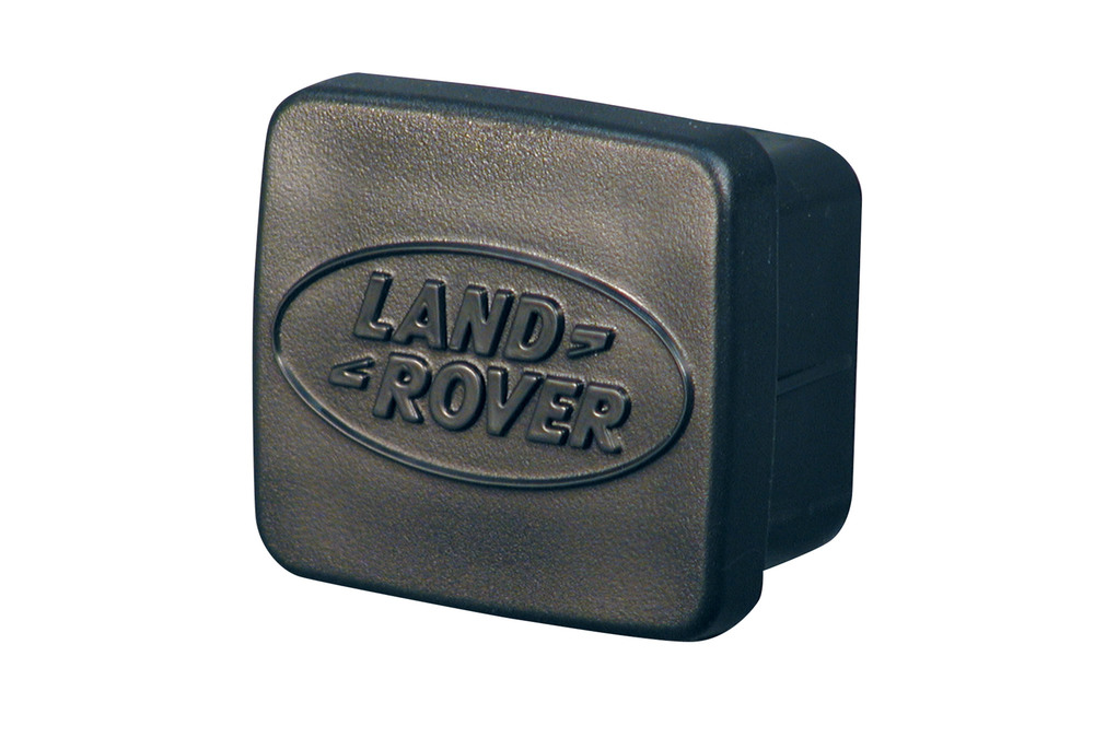 Genuine Trailer 2-Inch Hitch Receiver Receptacle Plug ANR3196 With Land Rover Logo