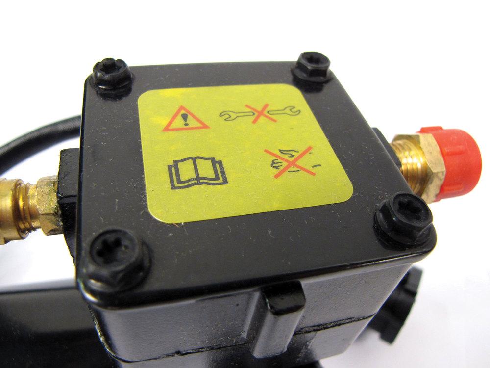 compressor for air suspension system